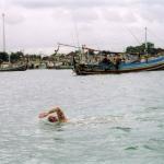 Training Swim, Bali Indonesia 1997